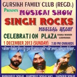 SINGH ROCKS MUSIC EVENT BY GFC