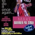 Vote & Support Davinder Pal Singh